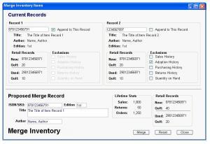 Merge Inventory